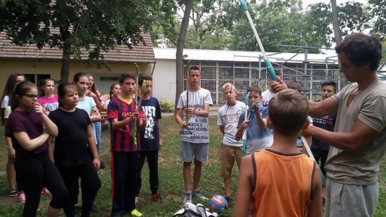 Tehetséggondozó tábor Tiszabecsen