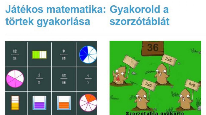 Játék 1×1 – online játékgyűjtemények kicsiknek és kicsit nagyobbaknak