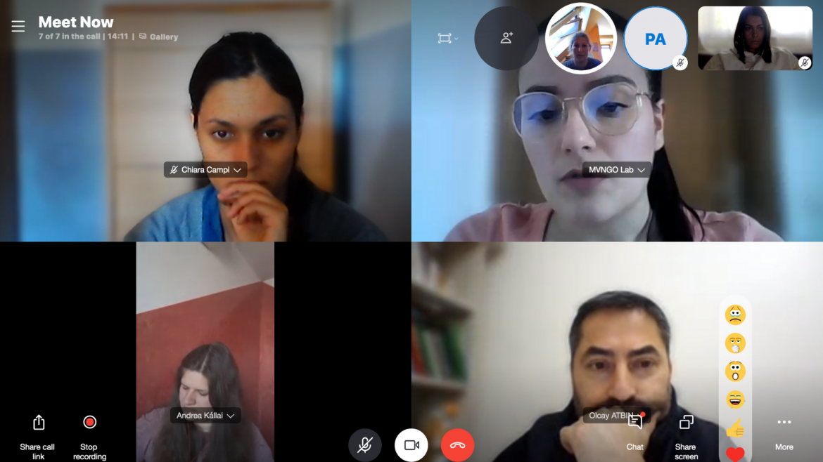 Integr-Action Through ETS – online meeting