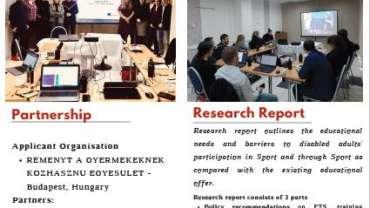 Megjelent az Integr-Action Through ETS projekt kutatása