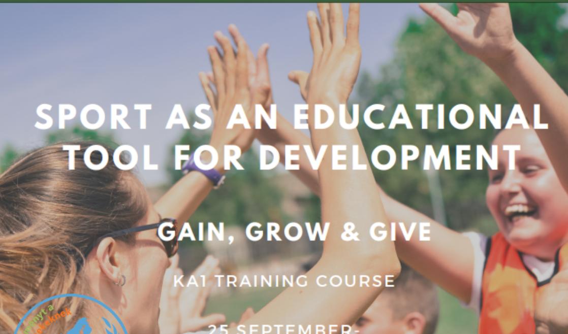 Felhívás Ifjúsági Csereprogramunkra – KA1 Gain, Grow and Give